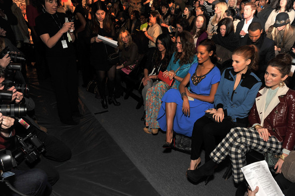 Tracy Reese - Front Row - Fall 2012 Mercedes-Benz Fashion Week