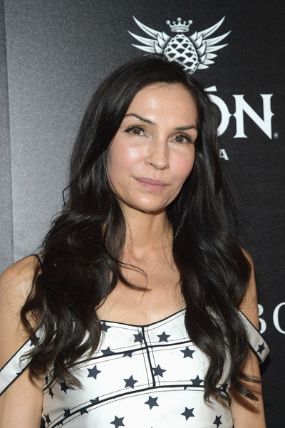 Famke Janssen's Flowing Waves