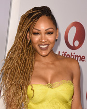 Meagan Good looked fab with her flowing locks at the screening of 'Love by the 10th Date.'