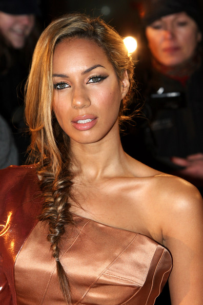 More Pics of Leona Lewis Long Braided Hairstyle (3 of 12) - Long Braided Hairstyle Lookbook - StyleBistro