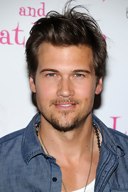Nick Zano showed off a messy short cut while hitting a red carpet event in New York City.