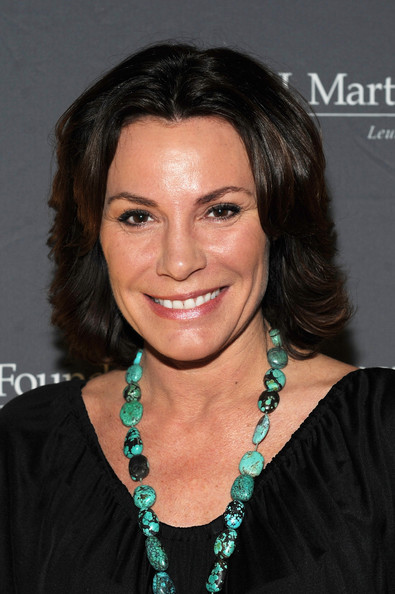LuAnn de Lesseps Bob [hair,hairstyle,face,eyebrow,chin,black hair,forehead,layered hair,smile,brown hair,arrivals,luann de lesseps,martell foundations women of influence awards,t.j.,new york city,martell foundations women of influence awards]