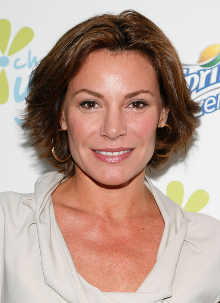 LuAnn de Lesseps Layered Razor Cut [choose you launch luncheon,the real housewives of new york,hair,face,hairstyle,eyebrow,chin,blond,brown hair,forehead,layered hair,smile,luann de lesseps,choose you,luncheon,saks fifth avenue,new york city,american cancer society,cafe sfa]