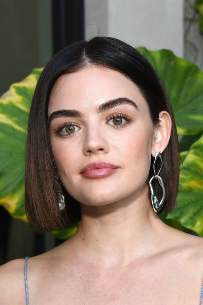 Lucy Hale Sterling Hoops
