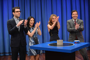 Lucy Liu and Jimmy Fallon Photo