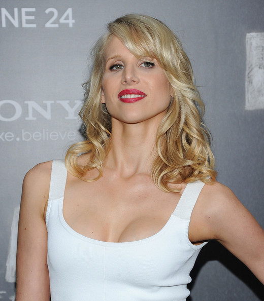 Lucy Punch Medium Curls with Bangs
