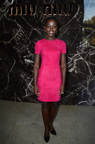Lupita Nyong'o Day Dress