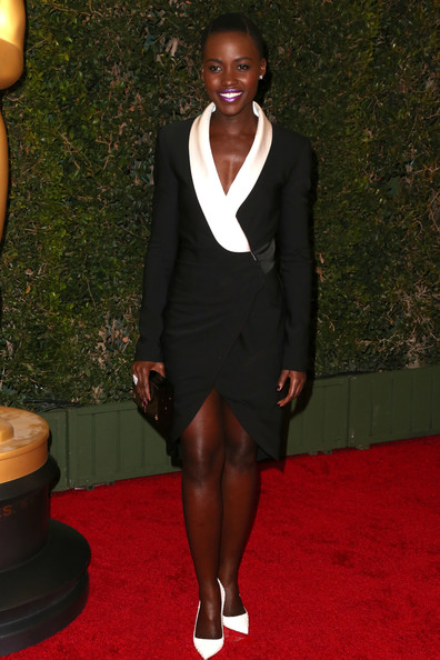 Lupita Nyong'o Wrap Dress