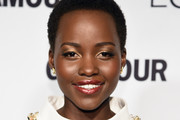 Lupita Nyong'o Metallic Eyeshadow