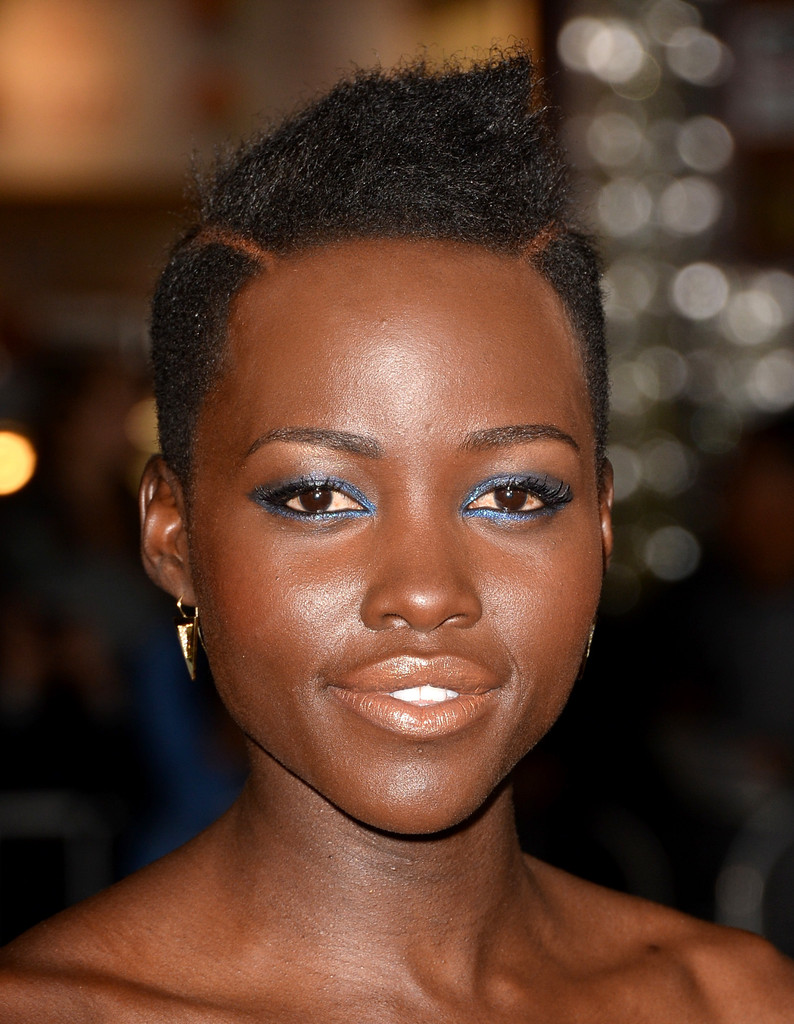 Lupita Nyong O Fauxhawk Short Hairstyles Lookbook