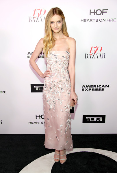 Lydia Hearst Strapless Dress
