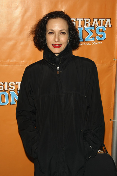 More Pics of Bebe Neuwirth Down Jacket (1 of 3) - Bebe Neuwirth Lookbook - StyleBistro [lysistrata jones,orange,outerwear,premiere,smile,black hair,jacket,broadway opening night - arrivals,bebe neuwirth,curtain call,new york city,walter kerr theatre,broadway]