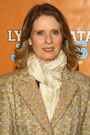 Cynthia Nixon wore her wavy tresses in a casually tousled bob at the Broadway opening of 'Lysistrata Jones.'