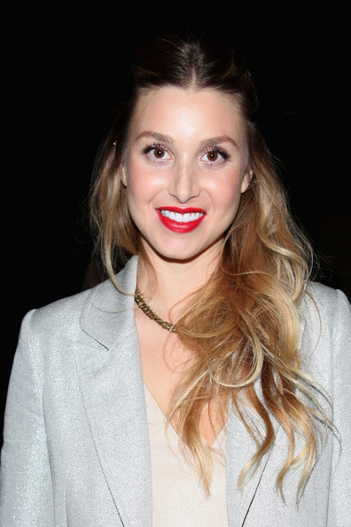 More Pics of Whitney Port Long Wavy Cut (5 of 21) - Long Wavy Cut Lookbook - StyleBistro