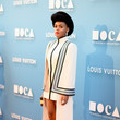 Look of the Day: Janelle Monae's Structural Ensemble
