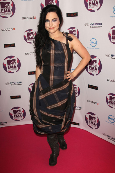 Amy Lee Of Evanescence The Best And Worst Dressed At The