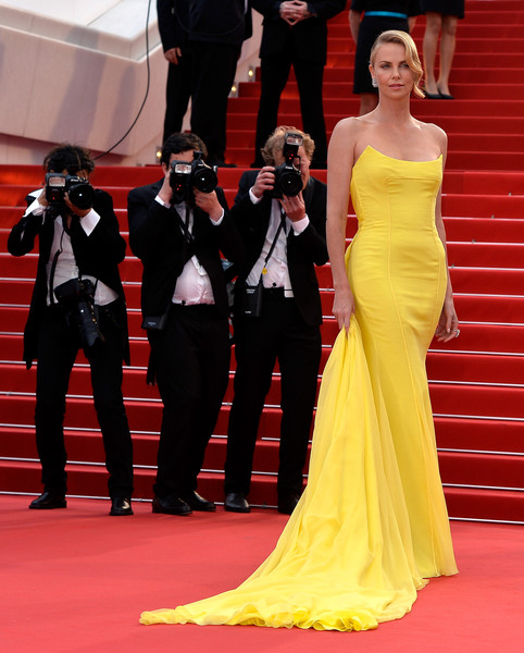 Charlize Theron in Christian Dior Couture, 2015