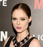 Coco Rocha looked gorgeous even with the simplest of ponytails!