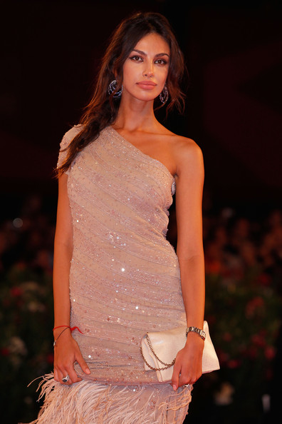 Madalina Ghenea Chainmail [un ete brulant,fashion model,clothing,fashion,fashion show,dress,beauty,shoulder,model,fashion design,haute couture,madalina ghenea,venice,italy,palazzo del cinema,premiere - 68th venice film festival,premiere]