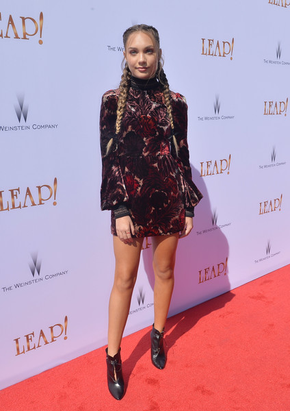 Maddie Ziegler Print Dress
