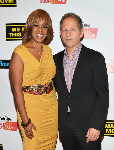 More Pics of Gayle King Bob (1 of 5) - Gayle King Lookbook - StyleBistro [we made this movie,yellow,premiere,event,dress,cocktail dress,carpet,rob burnett,gayle king,new york city,school of visual arts theater,world premiere]
