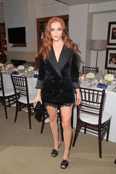 Madeline Brewer Peep Toe Pumps