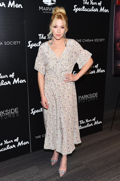 Madelyn Deutch Print Dress