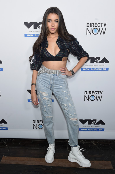 Madison Beer Work Boots