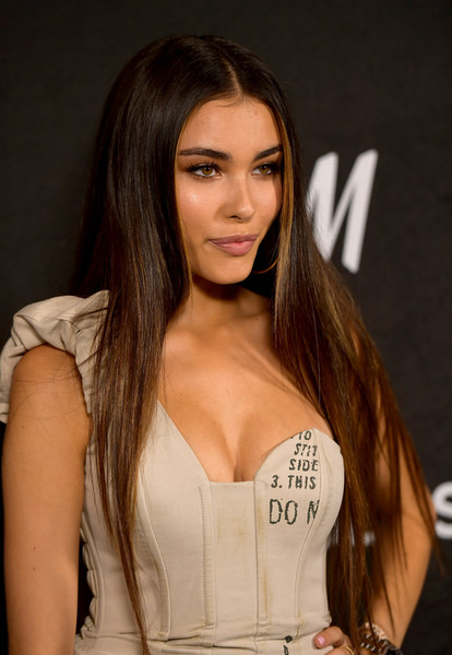 Madison Beer Long Center Part [hair,hairstyle,long hair,brown hair,beauty,layered hair,model,blond,black hair,premiere,madison beer,annual power of young hollywood - arrivals,power,young hollywood,west hollywood,california,sunset tower hotel,variety]