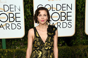Maggie Gyllenhaal Beaded Dress