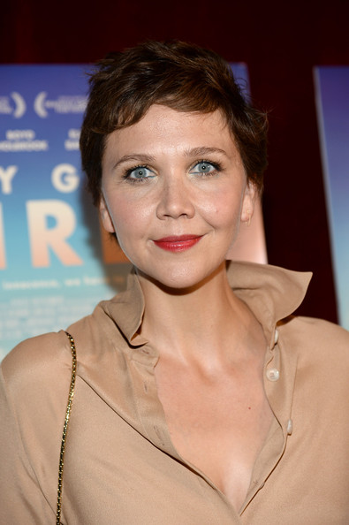 Maggie Gyllenhaal Pixie [very good girls,hair,face,hairstyle,eyebrow,lip,skin,beauty,chin,fashion,blond,maggie gyllenhaal,new york,tribeca grand hotel,premiere,premiere]