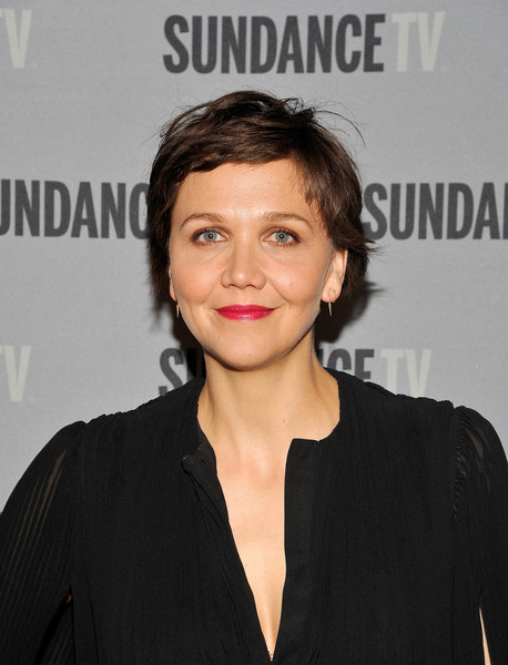 Maggie Gyllenhaal Pixie [the honorable woman,hair,face,hairstyle,eyebrow,lip,beauty,chin,forehead,premiere,white-collar worker,maggie gyllenhaal,creators,presentation,panel discussions,stars,rectify,los angeles,california,sundancetv presents panel discussions featuring creators and stars of rectify]