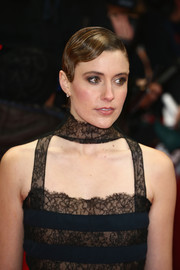 Greta Gerwig went vintage with this finger wave for the Berlinale premiere of 'Maggie's Plan.'