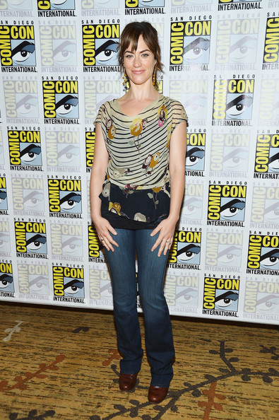 Maggie Siff Print Blouse