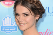 Maia Mitchell Braided Updo
