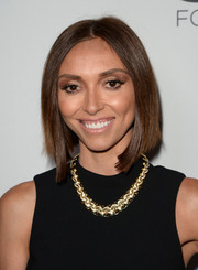 Giuliana Rancic attended the Make-A-Wish Greater LA Gala wearing a lustrous bob.