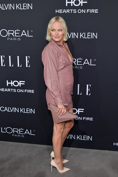 Malin Akerman Hard Case Clutch