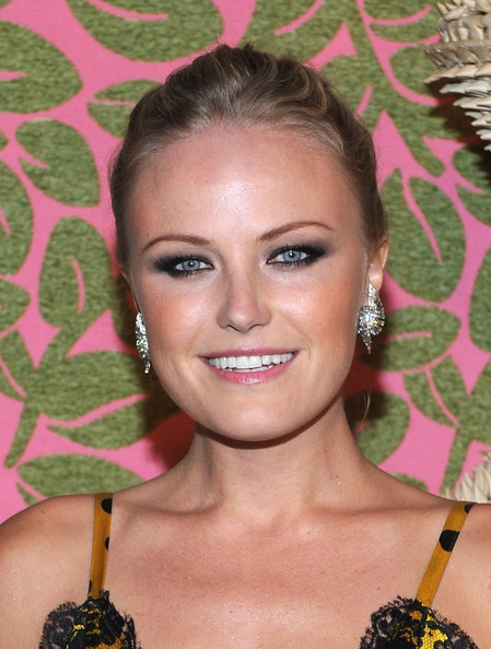 Malin Akerman Dangling Crystal Earrings