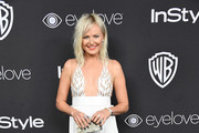 Malin Akerman Fringed Dress