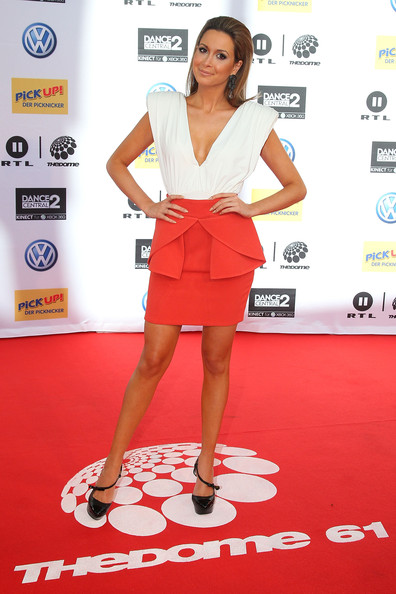 Mandy Capristo Cocktail Dress [red carpet,carpet,clothing,fashion,footwear,dress,flooring,premiere,cocktail dress,style,red carpet arrivals,mandy capristo,the dome 61,germany,wiesbaden,rhein-main-theater,dome]