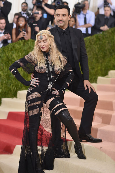 8. Madonna In Riccardo Tisci for Givenchy, 2016