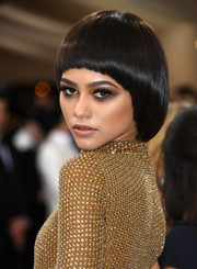 Zendaya Coleman bravely sported a bowl cut at the Met Gala!