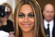 Beyonce Knowles Smoky Eyes