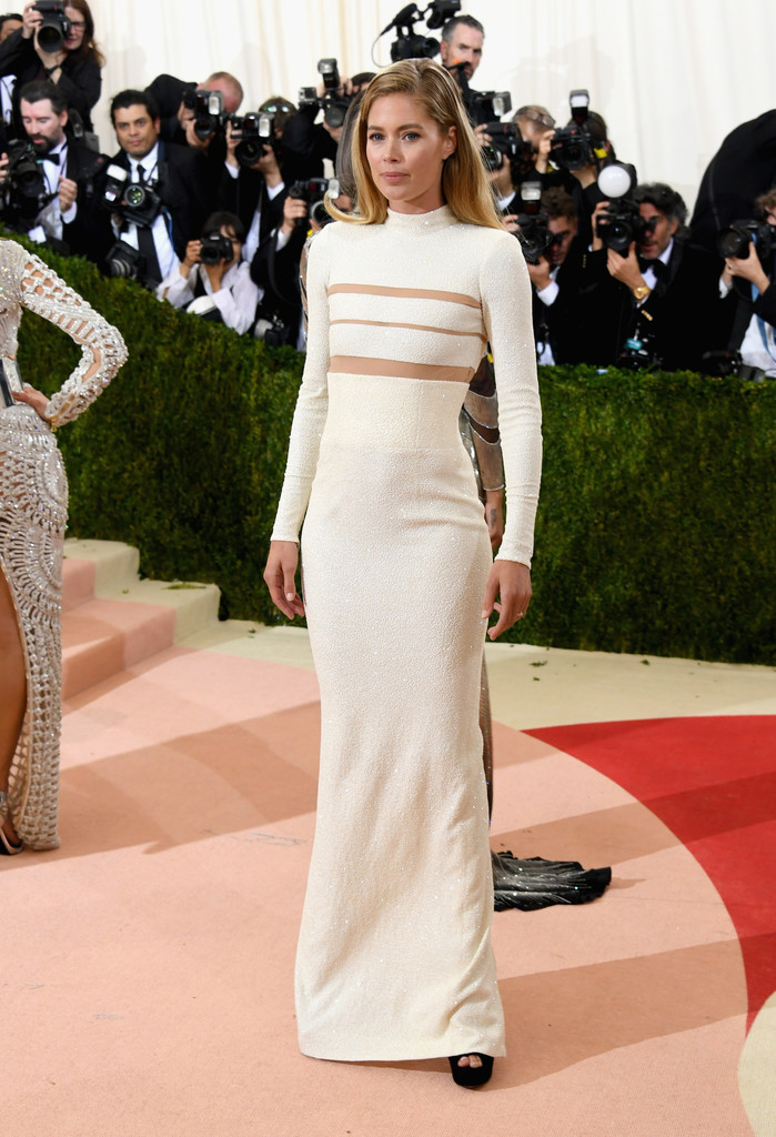Doutzen Kroes Best Dressed At The 2016 Met Gala