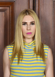 Zosia Mamet showed off a super-sleek layered cut at the Marc Jacobs Spring 2018 show.