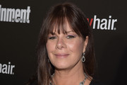 Marcia Gay Harden Long Straight Cut with Bangs