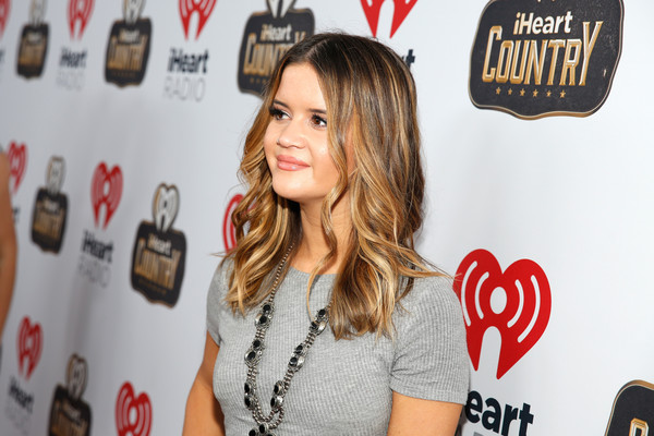 Maren Morris Long Wavy Cut [red,blond,long hair,premiere,drink,liqueur,brown hair,distilled beverage,frank erwin center - backstage,austin,texas,iheartcountry festival,maren morris]