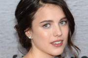 Margaret Qualley Messy Updo