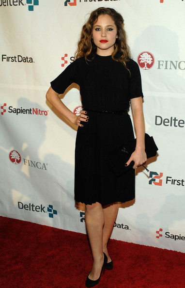 Margarita Levieva Little Black Dress