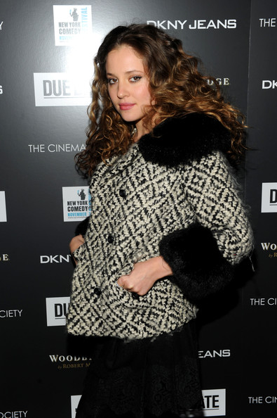 Margarita Levieva Tweed Jacket